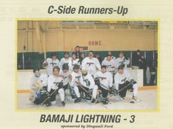 Bamaji Lightning - C Side Runners Up