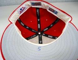 Albert Pujols 2004 World Series Game Used Hat