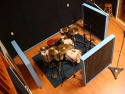 My Gretsch recording kit @ Soundfarm Recording Studio