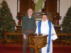 Pastor Susan Anderson & John Anderson