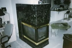 3 sided  Fireplace