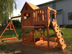 backyard discovery swing set assembly service in burke VA