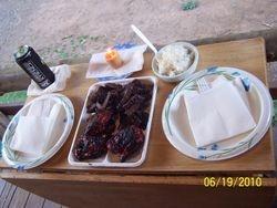 Dinner in Hawaii