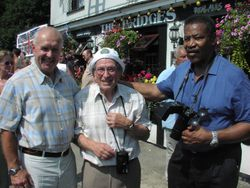Barry Douglas , Joe D'Orazio and Prince Kumali
