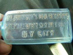 Dr Johnson's DOG  medicine.