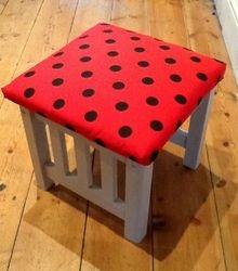 Ladybird footstool.