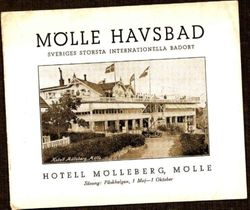 Hotell Molleberg 1927