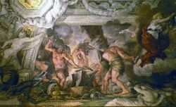 Pietro da Cortona, The Forge of Vulcan