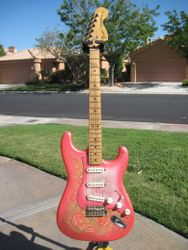 Fender Paisley Stratocaster 1985. I Played This Every Night For 20 Years.