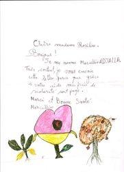Lettre de Marcellin