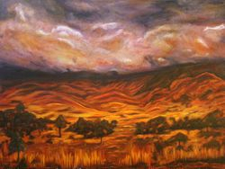 """""""Big Country"""" (MacDonnell Ranges)"""
