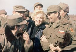 Marilyn Monroe in Korea:
