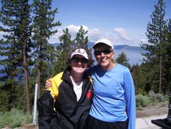 Mary and Lynn at Tahoe