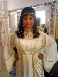 "Backstage in ""Die Zauberflote"" (The Magic Flute)"