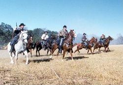 Calvery at Civil War Re-enactment at Liendo