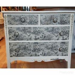 Peint avec Old Ochre et collage Vendu / Sold