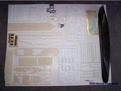 Pic 2 - Kit Parts Layout