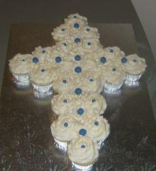 Cross Cup Cake Cake