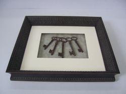 Old Keys Box Frame