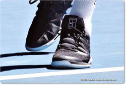 Tomas Berdych's NIKE shoes