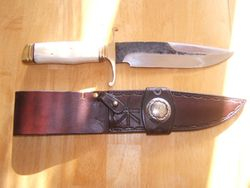 Bowie Knife & Sheath