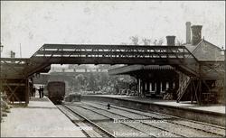 Halesowen Station. 1920s.