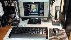 Comm Desk West Island Weather Station