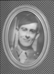 William Waldron in Uniform