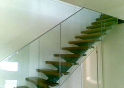 Frameless Glass Stair Rail