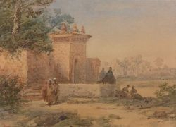 Aquarelle orientaliste