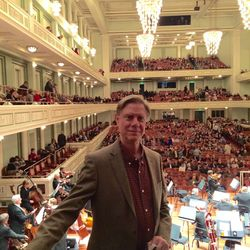 With the Nashville Symphony