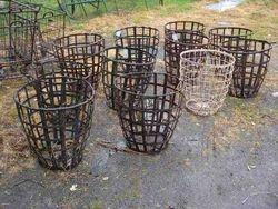 #13/244 Round Metal Baskets   SOLD