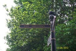 Signpost to The Suffolks