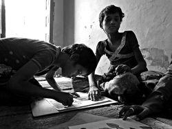 49 Children at the Mathura 'Street School' drop in centre