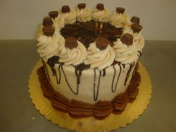15 serving classic chocolate with peanut butter icing $40
