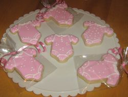 Sugar Cookies for Baby Girl