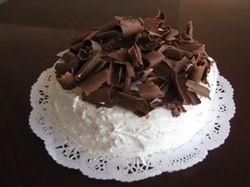 BATIDO BLANCO CON CHOCOLATE