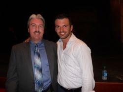 Bill with Tony Dovolani
