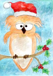 Owl Be Wishing You A Merry Christmas