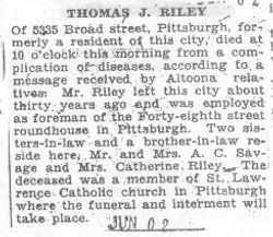 Riley, Thomas 1931