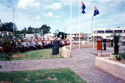 Opening of new Police Station, 15 March 1995