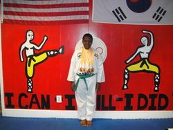 06-03-2012  Championships  Emanuel Leach 3 rd place Forms , 1 st place Breaking , 1 st place Weapons , 1 st place Fighting