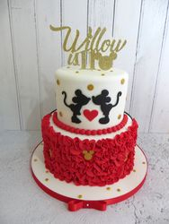Willow's 11th Birthday Cake