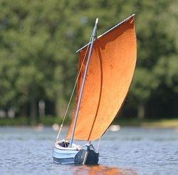 "36"" coble undersail"