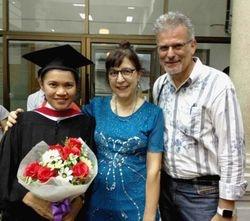 Joy's graduation