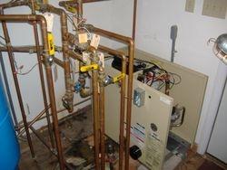 New Weil McClain Gold GV boiler