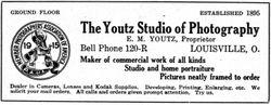 Youtz, photographer of Louisville, Ohio