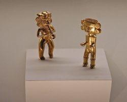 Pre-colombian gold artifacts - San Jose