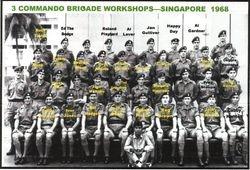 3 Cdo Brigade Workshops Singapore 1968