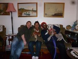 Martin, Elizabeth, Linda & Bertie